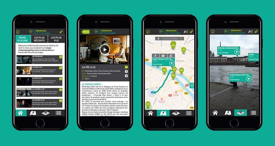 Création d'applications pour mobile