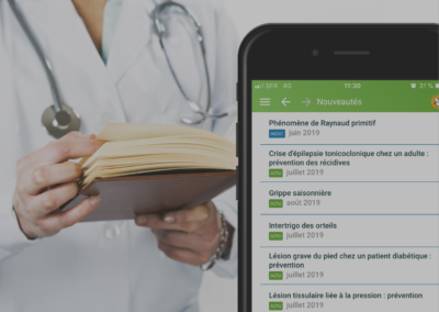 APPLICATION MOBILE ET DESKTOP « GUIDE PRESCRIRE »